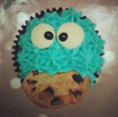 Creative Cookie Monster cakes