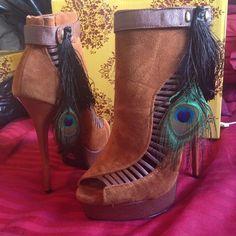 Prmise Heels ( new with box) Rango / mocha PrMise u Shoes Heels