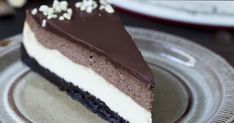 One of the best cheesecake ever, Nutella Cheesecake with a really dark chocolaty crust with oreo coo Easy Chocolate Cheesecake Recipe, Nutella Cheesecake, Best Cheesecake, Nutella Oreos, Tart Recipes, Sweet Recipes, Dessert Recipes, Food Cakes, Nutella Recipes