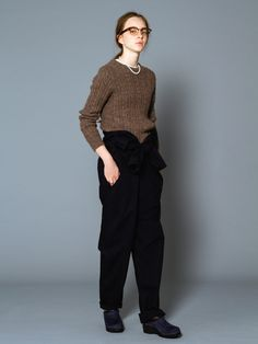 AUTUMN WINTER 2015 KNIT COLLECTION   BEAMS