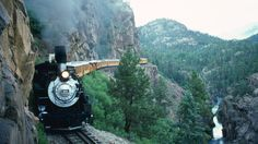 Silverton, Colorado | ... the High Line, Durango and Silverton Narrow Gauge Railroad, Colorado