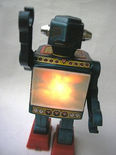 60s Japanese robot