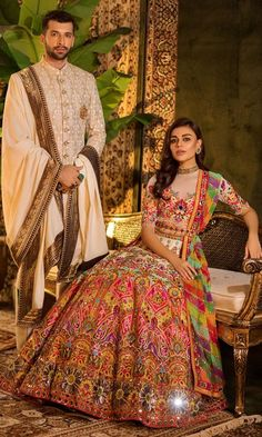 Bridal lehenga Store strongly believes that the ultimate empowerment is to wear something incredibly simple! Also, worldwide shipping is available. Mehendi Outfits, Indian Bridal Outfits, Indian Bridal Lehenga, Pakistani Bridal Dresses, Indian Bridal Wear, Indian Designer Outfits, Pakistani Outfits, Wedding Dresses, Kaftan