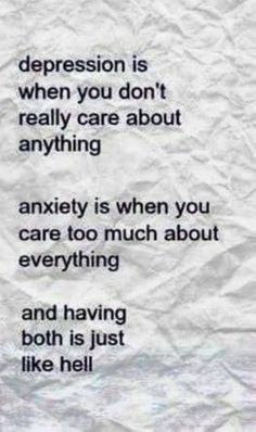 You Can Combat Panic And Anxiety With These Tips. When anxiety is looming, it can be hard to begin your day. You may find yourself avoiding activities you once enjoyed because of how your anxiety will make Inspirational Quotes For Depression, Poems About Depression, Symptoms Of Depression, Anxiety And Depression, Depression Facts, Depression Support, Depression Treatment, How To Calm Anxiety, Thoughts