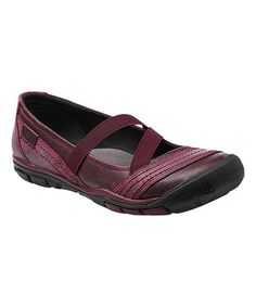 This Zinfandel Rivington CNX Leather Crisscross Mary Jane - Women by KEEN is perfect! #zulilyfinds