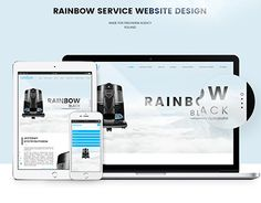 """Check out new work on my @Behance portfolio: """"RAINBOW SERVICE/ WEBSITE DESIGN"""" http://be.net/gallery/49059097/RAINBOW-SERVICE-WEBSITE-DESIGN"""