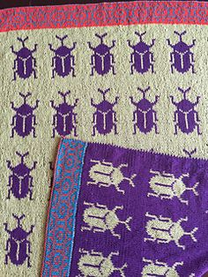 Double-knit Beetle Blanket The easy-to-understand, easy-to-knit way!