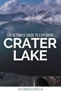 From where to go to what to see, here's a complete guide to visiting Crater Lake National Park in Oregon.   Oregon road trips | USA travel | Crater Lake Oregon | Crater Lake hikes