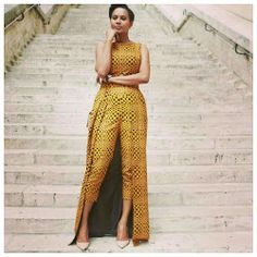 Have you seen any of these latest ankara styles ankara styles for ladies? African Print Dresses, African Dresses For Women, African Wear, African Attire, African Women, African Prints, African Style, African Fabric, Ankara Designs