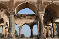 This Jan. 19, 2015, photo, shows Mogul Queen Mumtaz Mahal's first resting place after death in Burha... - AP Photo/Vijay Joshi