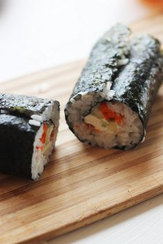 Homemade sushi - clear and easy to understand instructions