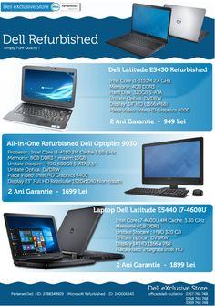 Calculatoare Second Hand si Refurbished - Dell eXclusive Store Second Hand, Mai, Two Hands, Calculus