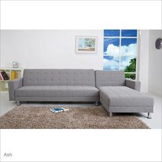 Gold Sparrow Frankfort Convertible Sectional Sofa Bed