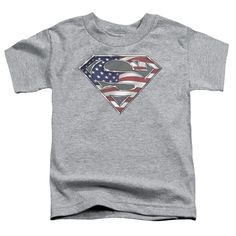 """Checkout our #LicensedGear products FREE SHIPPING + 10% OFF Coupon Code """"Official"""" Superman / All - Short Sleeve Toddler Tee - Heather (2t) - Superman / All - Short Sleeve Toddler Tee - Heather (2t) - Price: $29.99. Buy now at https://officiallylicensedgear.com/superman-all-short-sleeve-toddler-tee-heather-2t"""