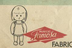 """""""Muñecas FAMOSA"""" detall publicitat revista Sissi. edit Bruguera. 1965"""