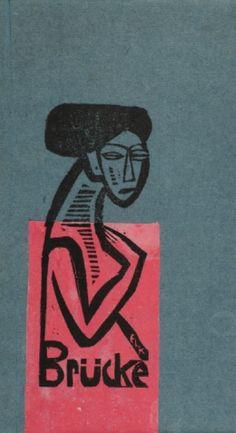 By Ernst Ludwig Kirchner, 1912, Cover exhibition Die Brücke (The Bridge), Berlin. (Die Brücke, 1905-1913)