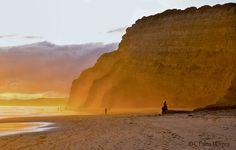 Illuminated Cliff by Cristina Palma Moreira, via 500px