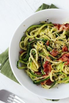 Roasted, Easy, Herby Spiralized Vegetables - Fit Foodie Finds