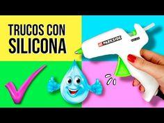 10 Trucos Con Pistola de Silicona Caliente - Experimentos Caseros - LlegaExperimentos - YouTube