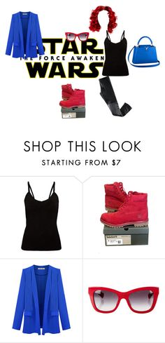 """""""Star Wars: The Force Awakens"""" by keshaunna-rucker ❤ liked on Polyvore featuring Louis Vuitton, Timberland, Dolce&Gabbana, H&M, starwars and contestentry"""