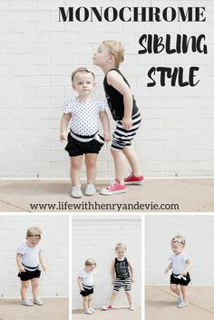 Monochrome Sibling Style