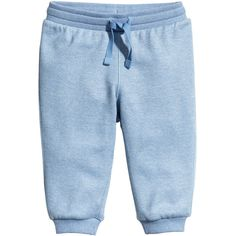 Sweatpants $6.99 (23 BRL) ❤ liked on Polyvore featuring activewear, activewear pants, sweat pants, blue sweat pants and blue sweatpants
