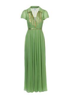 vintage evening gowns | 30s vintage prom dress