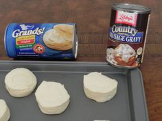 Breakfast Soft Foods - Biscuits and Gravy