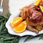 Fall Recipe: Orange Glazed Cornish Game Hens