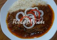 Recepty pro pomalý hrnec - Recepty.eu Grains, Rice, Beef, Breakfast, Food, Ph, Kitchens, Red Peppers, Meat