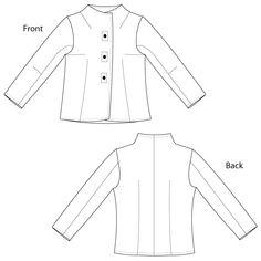 sewing workshop pattern, shirt pattern, fitting shirt
