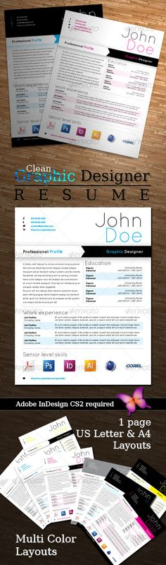 Graphic Designer Resume - Resumes Stationery