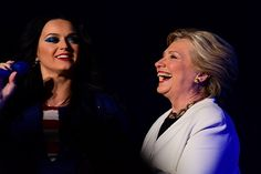 Hillary Clinton dons Katy Perry pumps in silly Instagram ad