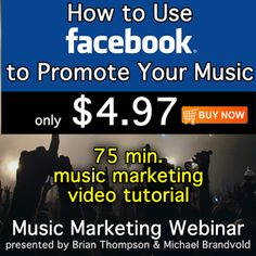 How To Use Facebook to Promote Your Music
