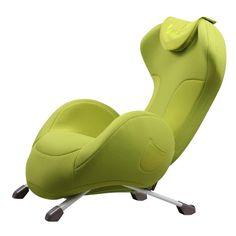 Dynamic Berkeley Massage Chair Green - HN-LT308S-GRN
