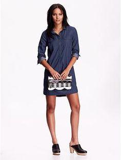 womens-chambray-shirt-dresses-dark-wash-2.jpg (260×345)