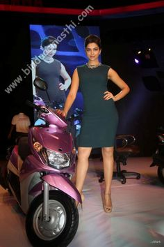Deepika padukone at Yamaha Ray Event Launch - Deepika Padukone - Zimbio