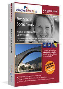 """""""Lernen Sie Bosnisch wesentlich schneller als mit herkömmlichen Lernmethoden – und das bei nur ca. 17 Minuten Lernzeit am Tag""""  Bosnisch lernen Sie möchten sich in Bosnisch verständigen können?  Dann ist der Bosnisch-Sprachkurs genau das Richtige für Sie! Bosnisch Sprachkurs"""