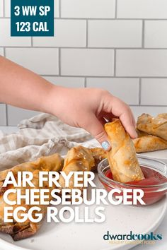 Air Fryer Recipes Weight Watchers, Weight Watcher Dinners, Ww Recipes, Low Calorie Recipes, Snack Recipes, Diabetic Recipes, Healthy Comfort Food, Healthy Snacks, Healthy Eating