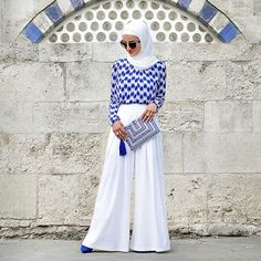 💙 Happy Eid Everyone 💙  #hijabinstylemiami