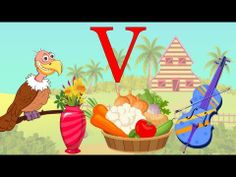 Learn About The Letter V - Preschool Activity - YouTube