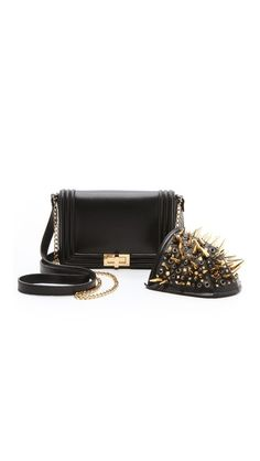 ONE by Lya Lya Guardian Bag with Detachable Spiked Shoulder Piece