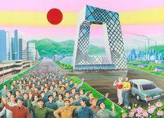 A China de hoje retratada com visual de propaganda comunista » Brainstorm9