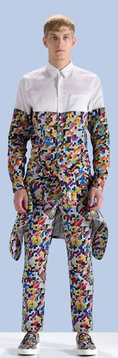 Source- WGSN. 'Pixels' a great design part of the digital wave movement.