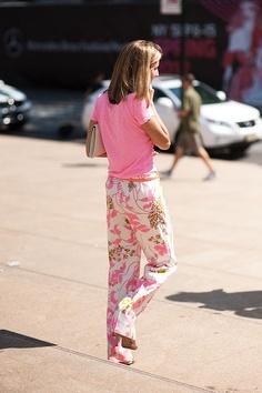 Print pants photo by Vanessa Jackman