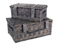 """Conservatory: these rattan hampers from Sainsbury's Nature Trail collection work as both tables and storage and blend effortlessly with the wicker sofa and """"Olympos"""" feel. Hamper Basket, Laundry Basket, Wicker Sofa, Rattan, Sainsburys Home, Autumn Home, Autumn Style, Winter Day, Autumn Inspiration"""