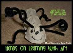 Hands on Fun & Learning with an Ant Egg Carton - The Educators' Spin On It