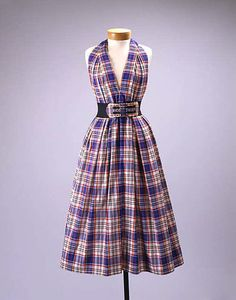 Dress    Claire McCardell, 1956