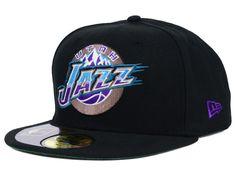 Utah Jazz New Era NBA HWC Retro High Crown 59FIFTY Cap Hats Utah Jazz 8dcf2c6df