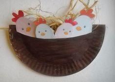 Birds In A Nest Paper Plate Craft Idea